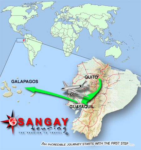 Galapagos location map