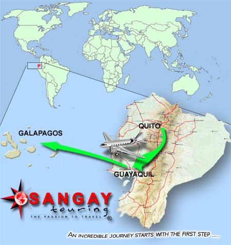 Galapagos location map